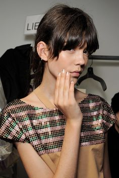 Creatures of the Wind - Nails by Katie Jane Hughes of butter LONDON. #NYFW #bLrocksFW