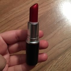 Port Red Mac cosmetics rare Used once. Comes sanitized. Very rare lipstick from Mac no longer in stores. Kept safely in my makeup vanity. Serious buyers only please thank you! MAC Cosmetics Makeup Lipstick