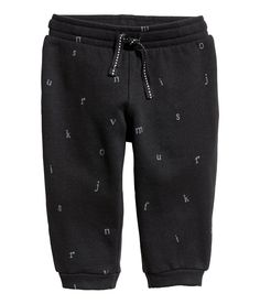 Check this out! CONSCIOUS. Sweatpants in organic cotton with an elasticized drawstring waistband and ribbed hems. Soft, brushed inside. - Visit hm.com to see more.