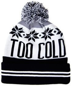 Too Cold Knit Beanie