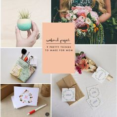 Weekend Project | 9 Pretty Things to Make for Mom