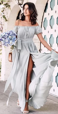 long dress @roressclothes closet ideas #women fashion outfit #clothing style apparel