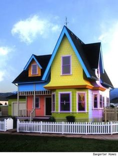 The Up House! Obviously I need to live here! Only one problem, it's in Herriman, Utah!