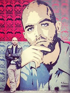 I went to visit this mural. The fact that somewhere over there, there is another me standing in the streets, crossed by the sun, the fog, the rain and the traffic, makes me happy…Roberto Saviano(Author of the book Gomorra and outstanding figure in the fight against mafia)