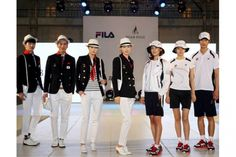 2012: Who was dressed the best when they arrived at the Olympics this year? South Korea