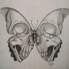Leading Tattoo Magazine & Database, Featuring best tattoo Designs & Ideas from a. - New Tattoo Trend Dark Art Drawings, Pencil Art Drawings, Art Drawings Sketches, Cool Drawings, Tattoo Drawings, Drawings Of Skulls, Tattoo Outline Drawing, Drawings With Meaning, Arte Sketchbook