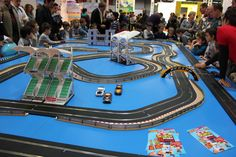 #HORNBY at #MILANOtoys fair: #GcomeGIOCARE -  #SCALEXTRICtrack