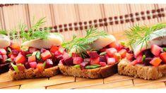 Bruschetta, Avocado Toast, Sushi, Breakfast, Ethnic Recipes, Food, Morning Coffee, Essen, Meals