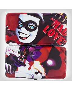 Mad Love Harley Quinn Hinged Wallet - Spencer's