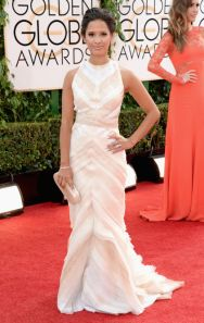 2014 Golden Globe Awards Red Carpet -> The Best, The Worst and The Meh  BEST: Rocsi Diaz