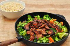 Würzige Rezepte Tempeh, Kung Pao Chicken, Lunch, Beef, Dinner, Wok, Ethnic Recipes, Dinner Ideas, Lasagna