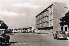 Roermond, uit de oude doos: Huishoudschool Oranjelaan