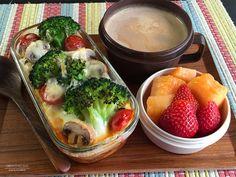 野菜のマカロニミートグラタン弁当01