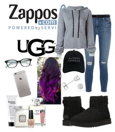"""""""The Icon Perfected: UGG Classic II Contest Entry"""" by tmorris-tm on Polyvore featuring UGG Australia, Frame Denim, Ann Demeulemeester, Unravel, Nasaseasons, Amanda Rose Collection, Botkier, philosophy, Chanel and Laura Mercier"""
