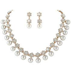 Ever Faith österreichischen Kristall künstliche Perle Halskette mit Ohrring Anhänger Schmuck-Sets Gold-Ton A13373-2 Ever Faith http://www.amazon.de/dp/B00OZK13R0/ref=cm_sw_r_pi_dp_lvAUvb06ZFMSP