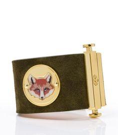 Fox Face Coin Cuff | Womens Bracelets | ToryBurch.com