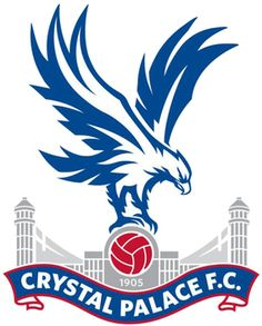 Crystal Palace F.C. Just the eagle, in black (placement: back-left shoulder blade)