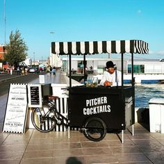 Ideas for mobile food carts and stalls on wheels  ||| Visual Merchandising + Creative Direction for Small Business ||| www.sarahquinn.com.au: