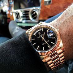 Sleek and Fresh Rolex Day-Date $12500