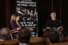 Actor Josh Brolin speaks to students at New York Film Academy in Los Angeles. #JoshBrolin #acting