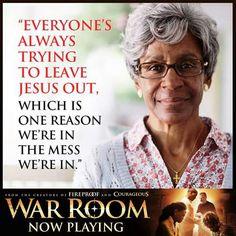 The truth like I've never heard it! # War room AMEN