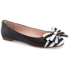 kate spade new york 'wallace' cap toe flat