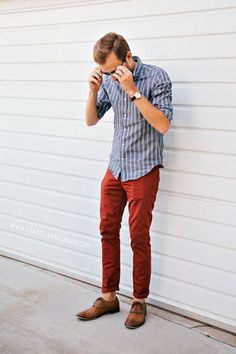 Red #Men Fashion #Mens Fashion| http://your-men-fashion-gallery.blogspot.com