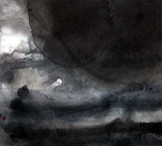 Sumi clouds 2003  by Christine Flint Sato