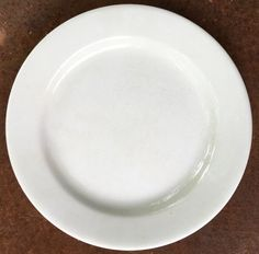 Antique White Ironstone Dinner Plate by putnamandspeedwell on Etsy  sc 1 st  Pinterest & Antique White Large Oval Ironstone Platter Embossed Lily on | White ...