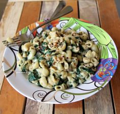 Great-Secret-Of-Life: Creamy Spinach Pasta / Macaroni