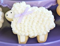 How to Make Cute Easter Lamb Cookies