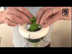 Как сделать свадебный букет букет - YouTube