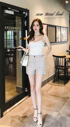 stylish corean woman