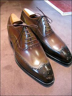 Corthay mens shoes brogues Repinned by www.silver-and-grey.com