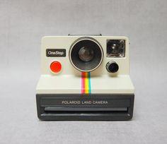 Polaroid SX70 One Step Land Camera Rainbow by TheRecycleista,