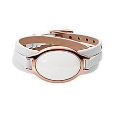 Sea Glass Leather Bracelet