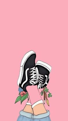 Most Awesome Free Anime Wallpaper IPhone I know this is ART but I have seen these shoes and I really want these shoes :) - - Tumblr Wallpaper, Wallpapers Tumblr, Screen Wallpaper, Cool Wallpaper, Cute Wallpapers, Shoes Wallpaper, Wallpaper Ideas, Cartoon Wallpaper, Mobile Wallpaper