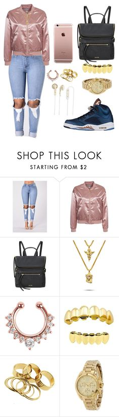 """""""Untitled #776"""" by msnh ❤ liked on Polyvore featuring NLY Trend, Calvin Klein, The Gold Gods, Michael Kors and Frends"""