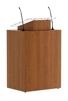 Lectern Voitablo height adjustable ADA compliant presentation desk