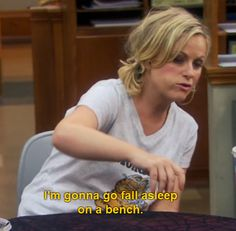 Leslie Knope..So relatable in this moment