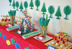 lego buffet table