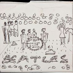 Must-see: John Lennon's ORIGINAL hand-drawn sketch of the most famous album cover in history - Mirror Online