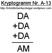 Kryptogramm-A13
