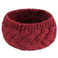 Fashion Korean Style Girl Women Flower Crochet Knitted Ear Warm Hair Band  Headband 4be95baa16a
