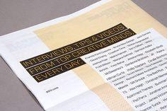 99U Magazine :: Creative Careers Issue on RISD Portfolios