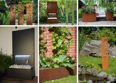 Gartendeko Cortenstahl | Garten | Pinterest Cortenstahl Garten Terrasse Produkte