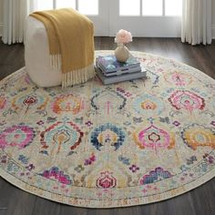 . Shaw Carpet, Grey Carpet, Pink Carpet, Modern Carpet, Round Area Rugs, Blue Area Rugs, Nourison Rugs, Teal Cushions, Circle Rug