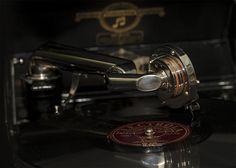 Photography, PhotoArt Gramophone Espresso Machine, Coffee Maker, Kitchen Appliances, Photography, Record Player Table, Round Round, Musik, Espresso Coffee Machine, Coffee Maker Machine