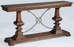 "72"" Ambella Home Woodford Console Table – Nutmeg 24030-850-001"