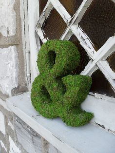 Mossy &...I wonder if this would work with the moss graffiti concoction